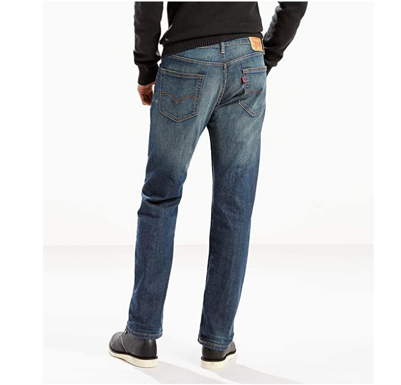 Levi's Men's 505 Regular Fit Jeans, Cash, 36W x 30L