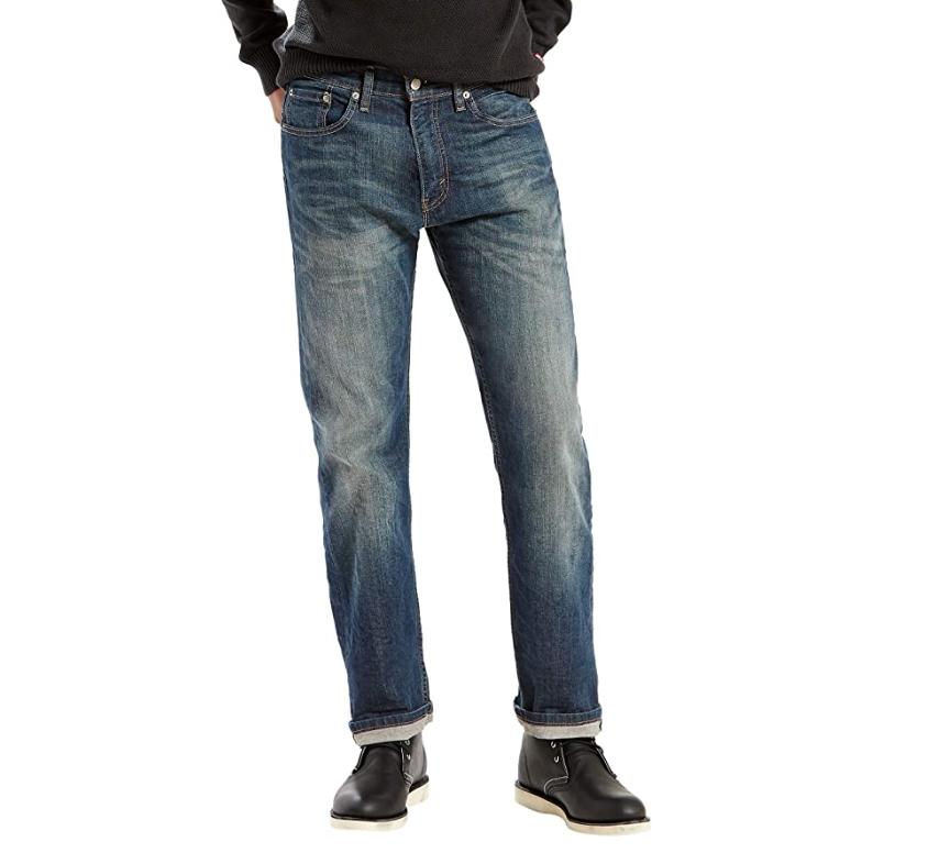 Levi's Men's 505 Regular Fit Jeans, Cash, 36W x 29L