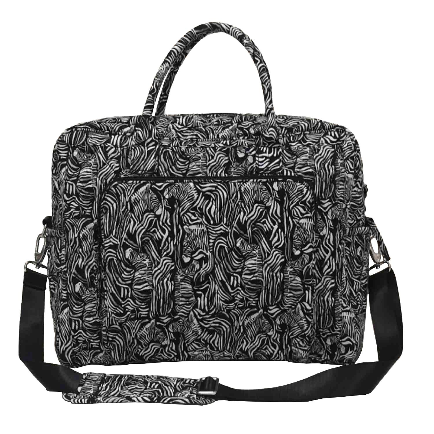 Member's Mark Quilted Travel Tote in Zebra