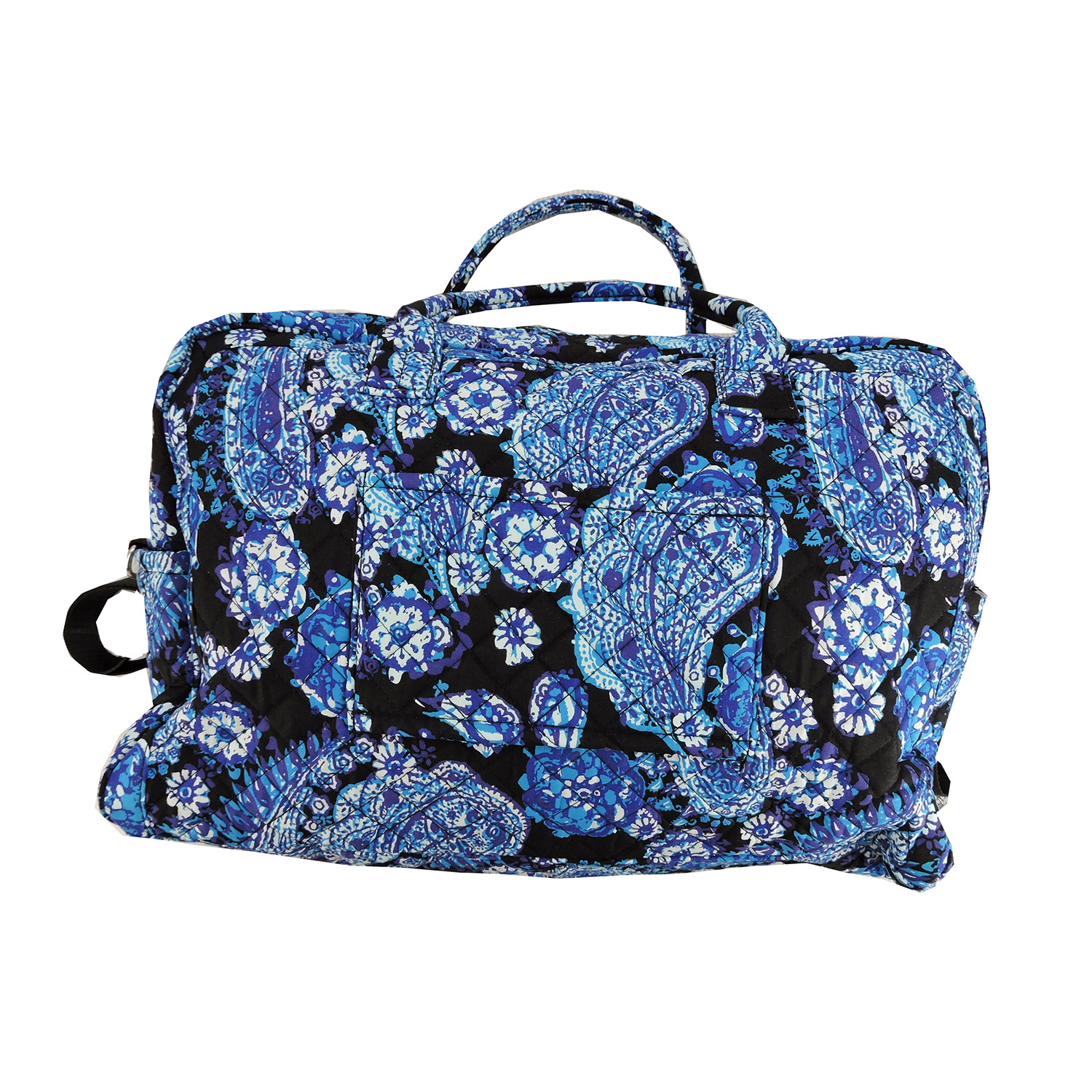 Member's Mark Quilted Travel Tote in Paisley Blue