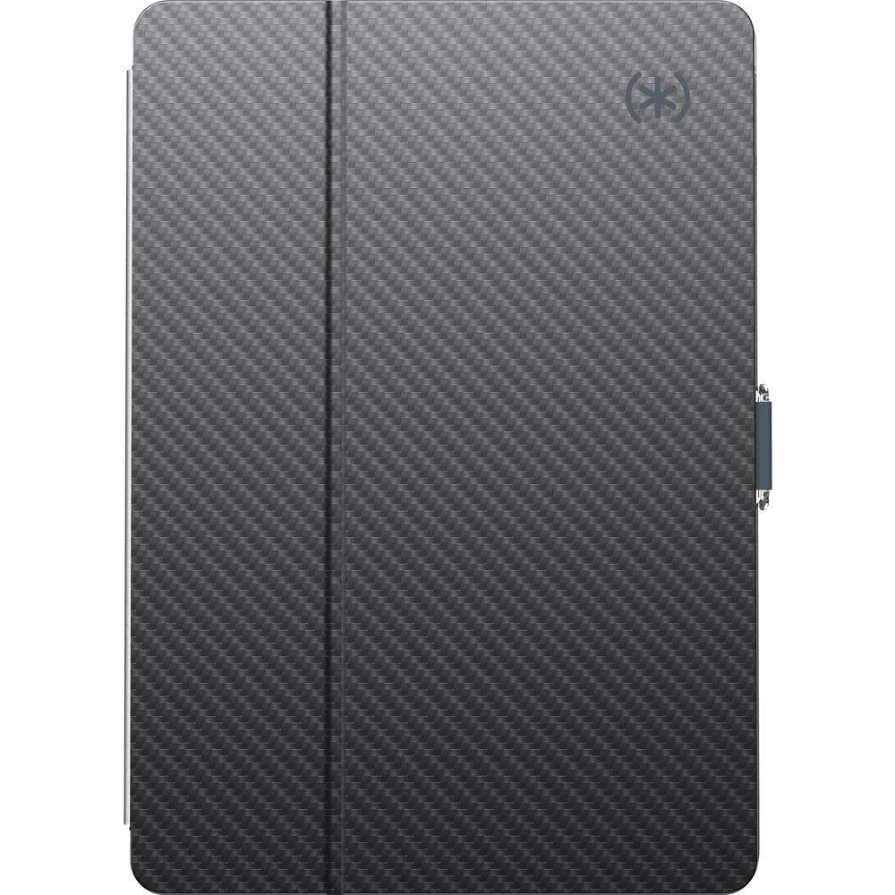Speck Balance Folio Clear 9.7Inch iPad (2017/2018)  Gunmetal Grey Clear