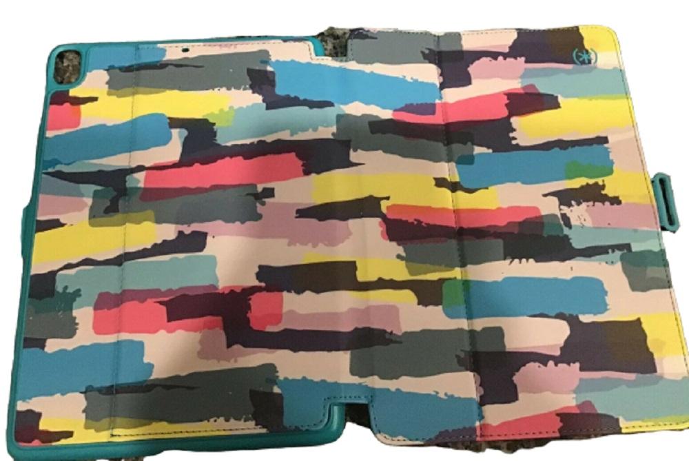 Speck Stylefolio Print 9.7 inch iPad /iPad Pro/ iPad Air/Air 2  Multi Stripe