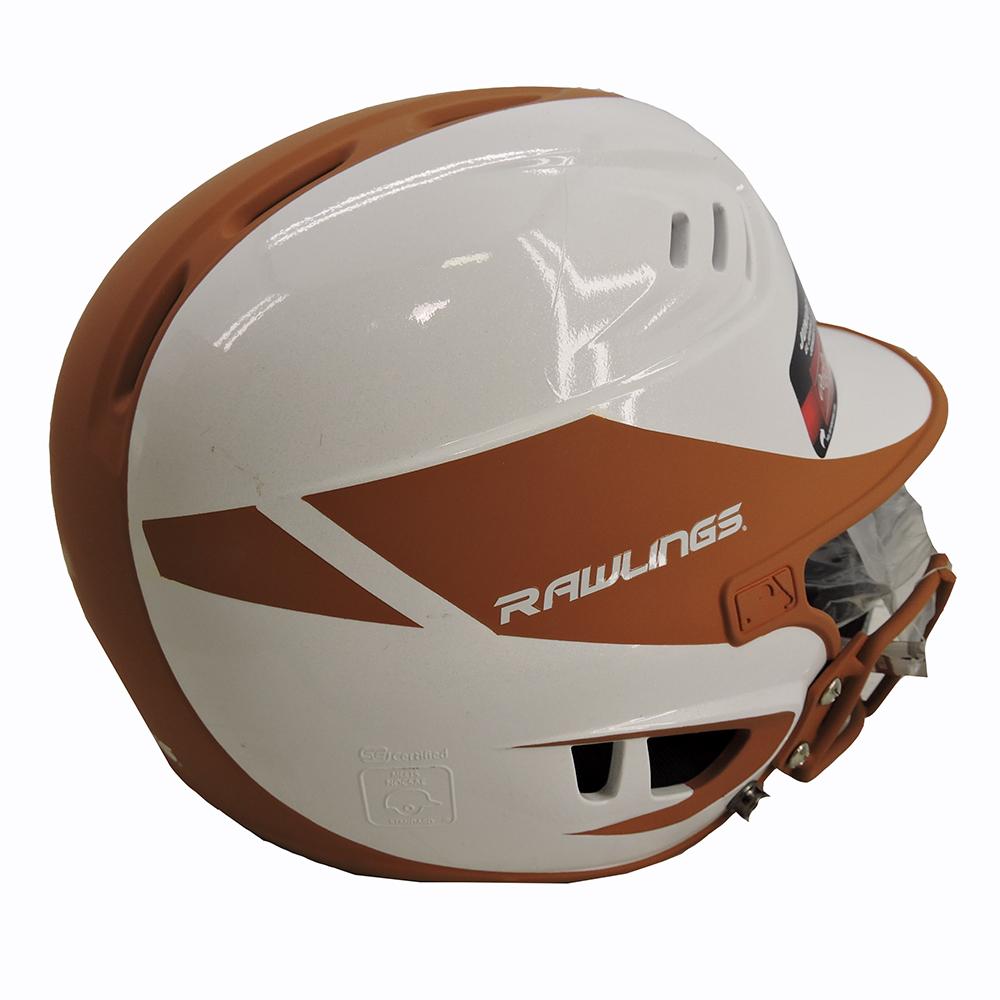 RAWLINGS Velo Junior 2Tone Softball Batting Helmet with Faceguard