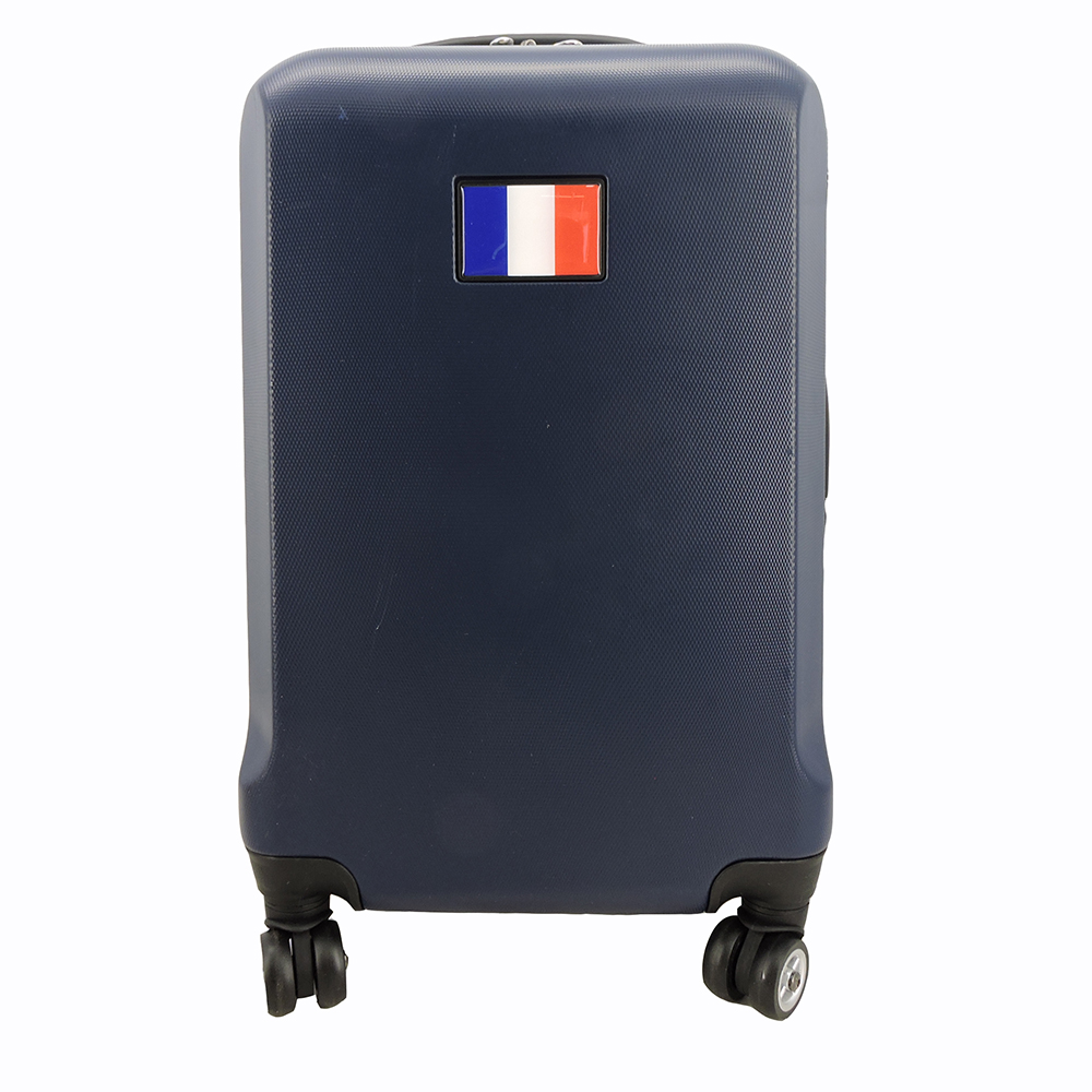 """MOJO LICENSING Italy Flag 21"""" CarryOn Spinner in Blue"""