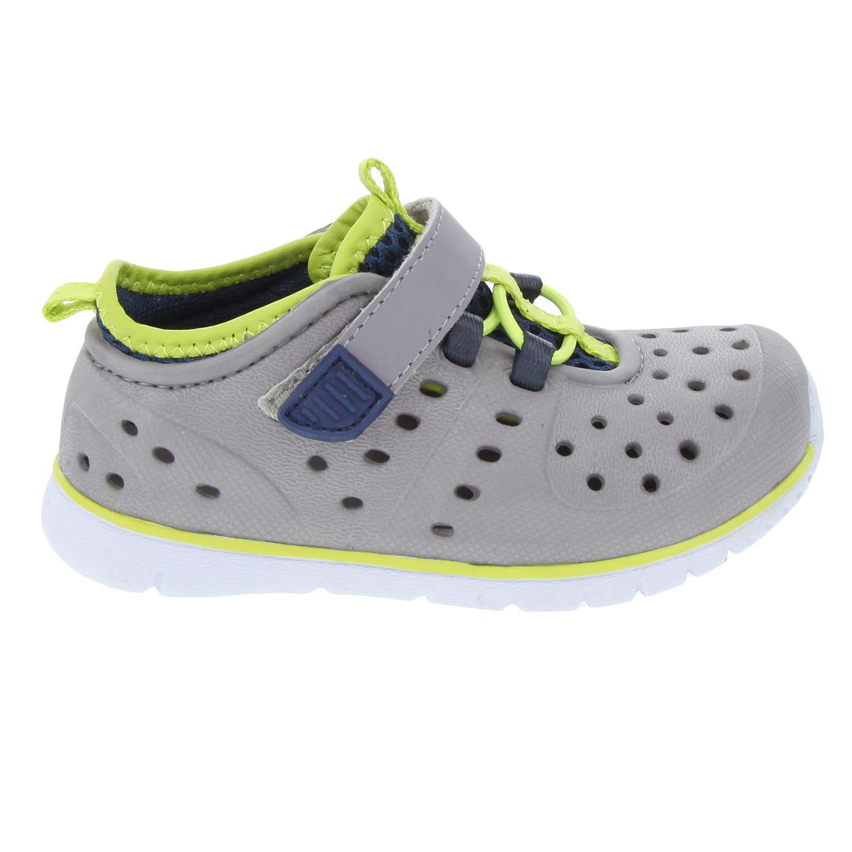 Member's Mark Kids Mud Puppy Slip On Shoe in Grey Lime, 8