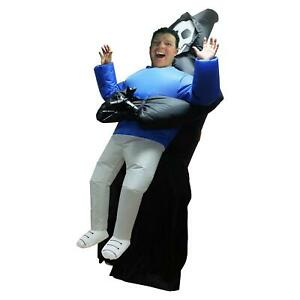 Airborn Inflatable 7foot Tall Inflatable Pick Up Reaper Costume Halloween Adult One Size