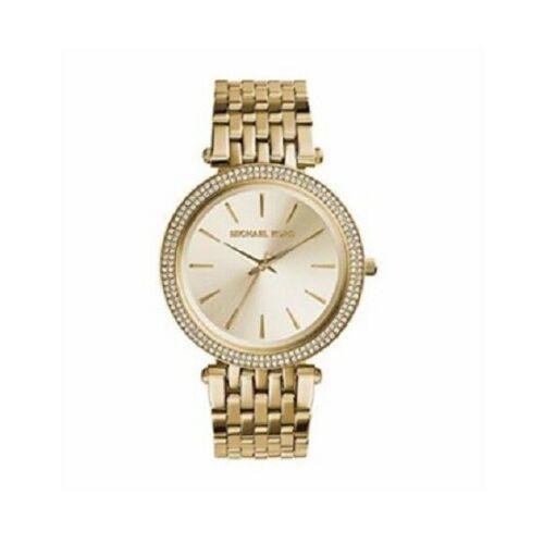 MICHAEL KORS Women's Darci (MK3191) Gold/Stainless Steel Bracelet Watch