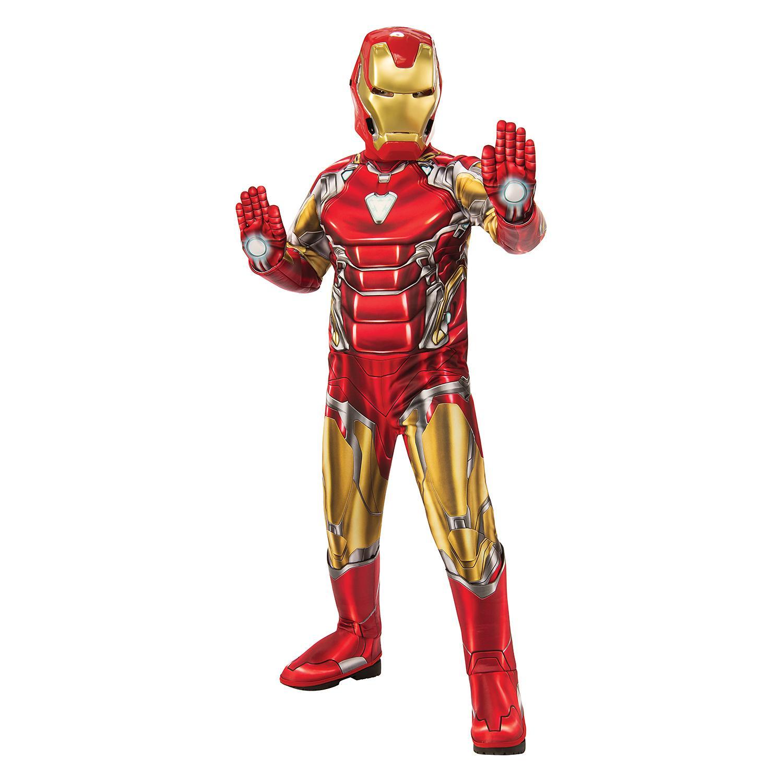 Big Boys Superhero Costume In Iron Man, 810 / 57 Years