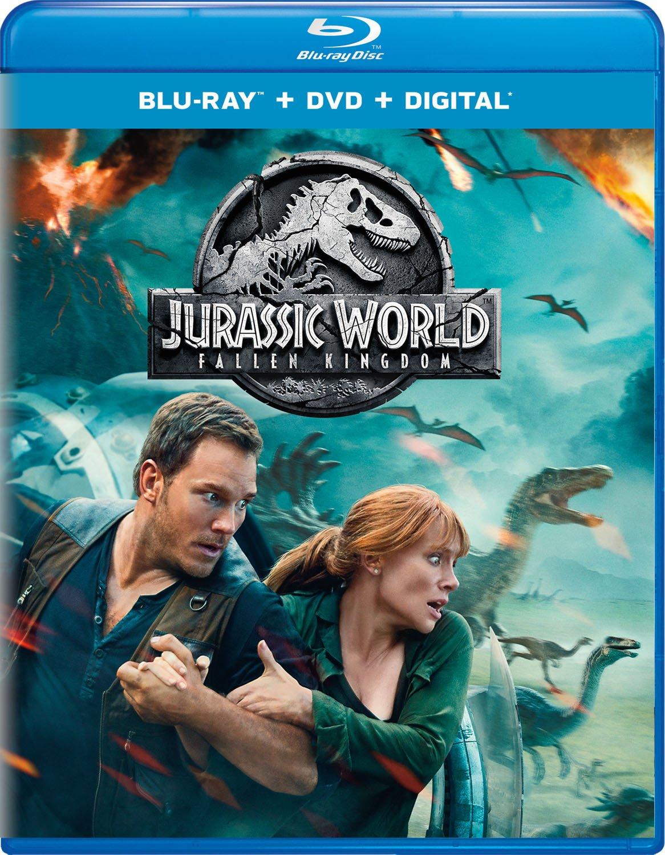 Jurassic World: Fallen Kingdom (BlueRay, DVD, Digital)