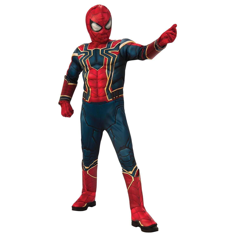 Big Boys Superhero Costume In Iron Spider,  810 / 57 Years