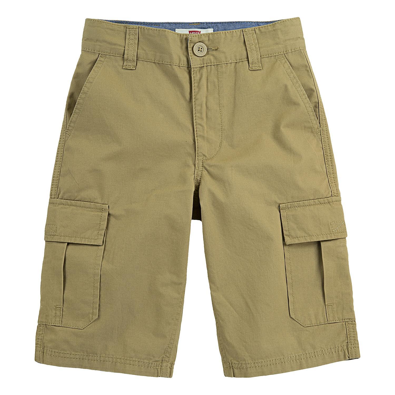 Levi's Boys' Huntington Cargo Shorts in Cargo Harvest Gold, 5