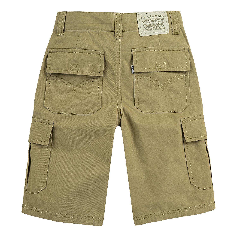 Levi's Boys' Huntington Cargo Shorts in Cargo Harvest Gold, 8