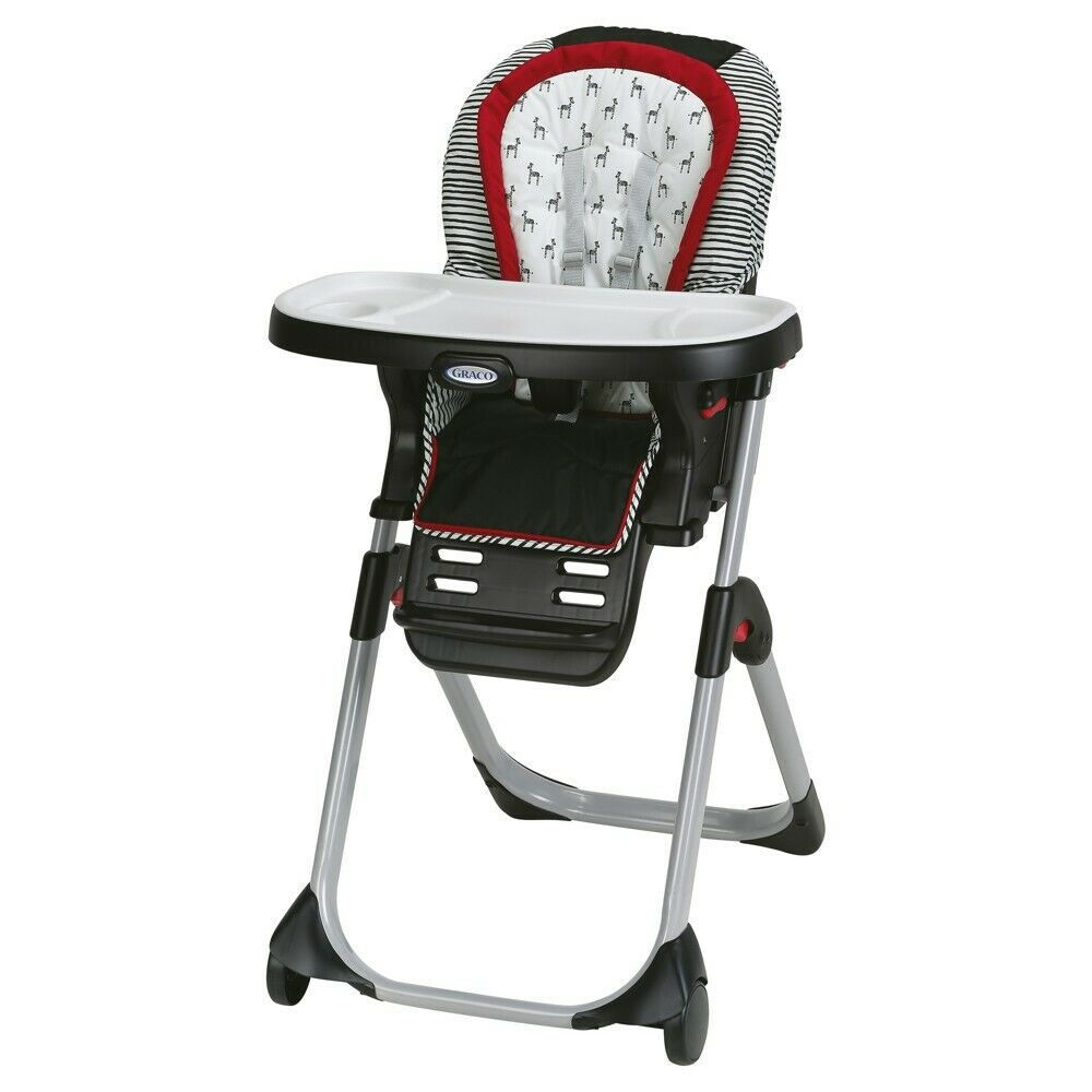 Graco Duodiner 3in1 Convertible High Chair in Black, Zink
