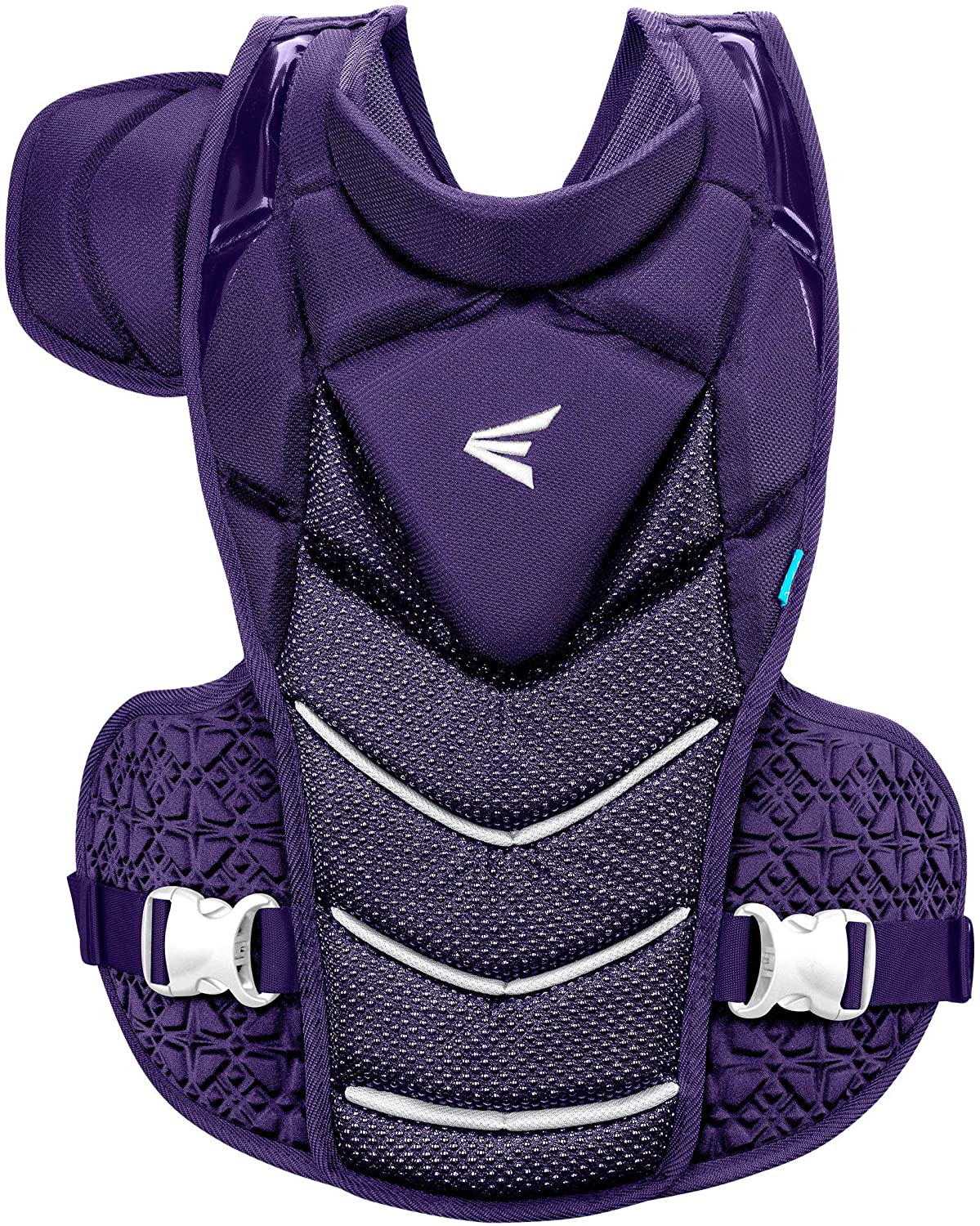 """EASTON Women's Jen Schro """"The Very Best"""" Fastpitch Chest Protector In Purple White, L"""