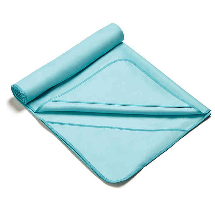 MISSION AthleteCare VaporActive Yoga Mat Towel  Blue Bird