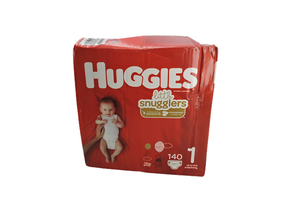 Huggies Little Snugglers Baby Diapers, Size 1, 140 Ct, Giant Pack