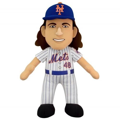 BLEACHER CREATURES MLB: New York Mets  Jacob deGrom 10 Plush Figure