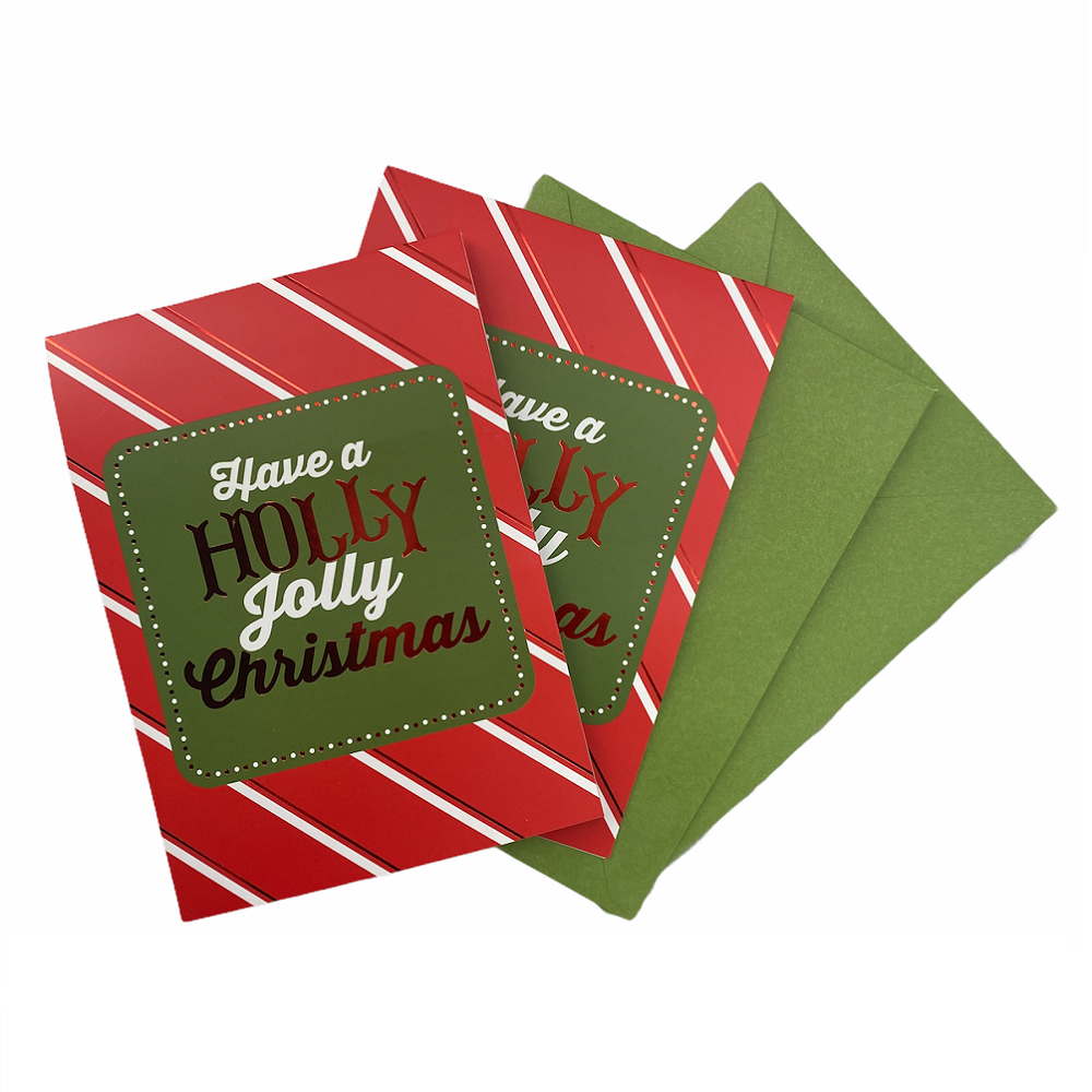 GCI 2Pack 3D Popup Christmas Greeting Card