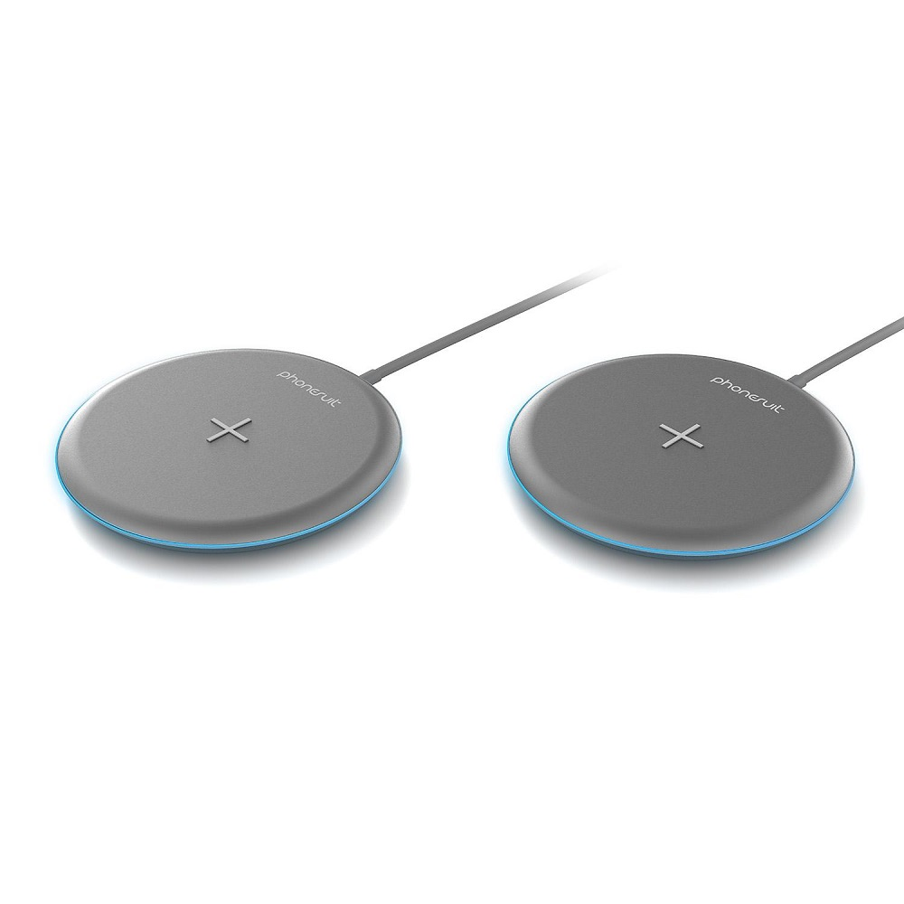 PHONESUIT Energy Core Wireless Qi Charge Pad LT  10W/7.5W  2 PACK