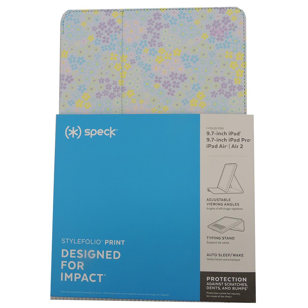 "Speck 10.5"" Stylefolio Print Case for iPad Air (2019)/iPad Pro   Blue Multi Floral"