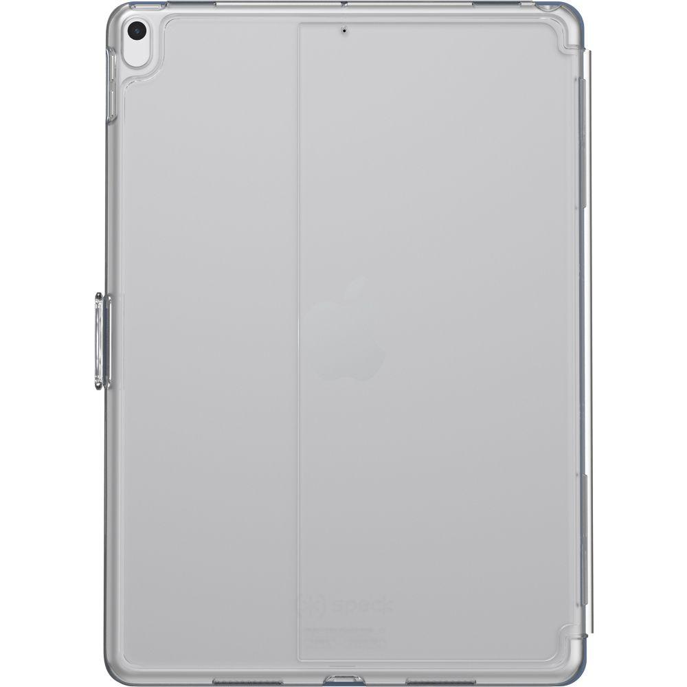 Speck Balance Folio Clear 10.5Inch iPad Pro/iPad Air (2019)  Gunmetal Grey Clear