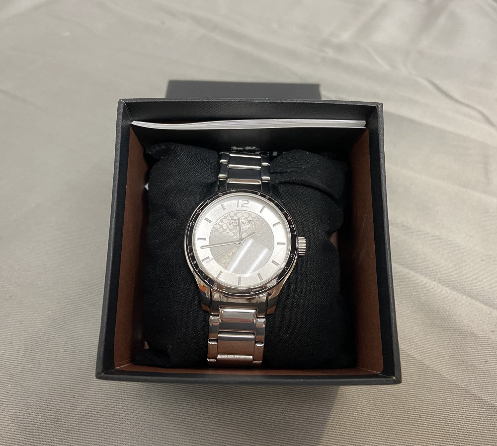 Coach 14501791 Maddy Silver Dial Stainless Steel Women's Watch