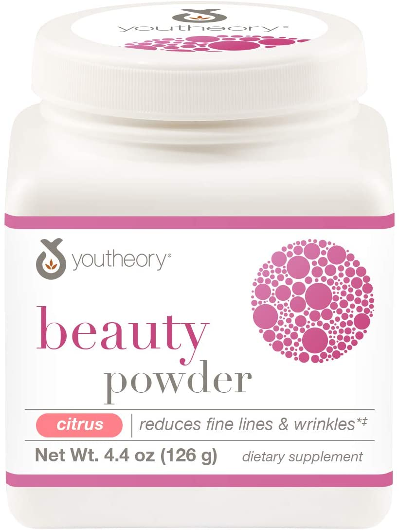 YOUTHEORY Beauty Powder Citrus Flavor  6.2oz