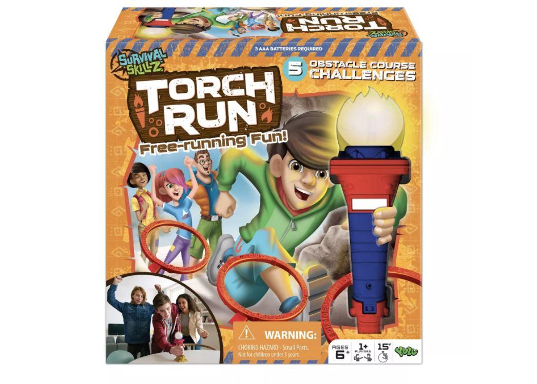 SURVIVAL SKILLZ Torch Run Board Game