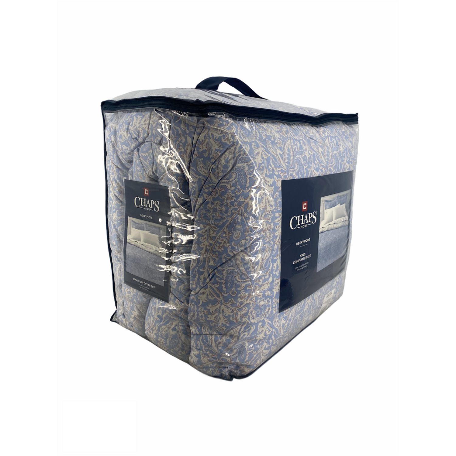 Chaps Home Derrymore King Comforter Set In Blue