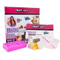 CRAFT CITY Deluxe DIY Eraser Clay Set