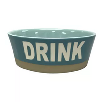 Boots and Barkley DRINK Stoneware 4 Cup Bowl for Cats