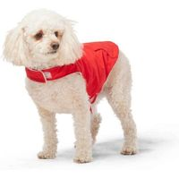 Free Country Dog's Raincoat Jacket in Poppy Red, Medium