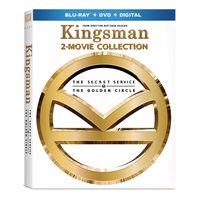 Kingsman 2Movie Collection (Bluray + DVD + Digital)