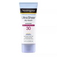 NEUTROGENA Ultra Sheer Dry Touch Sunscreen Lotion  SPF 30  3 fl oz
