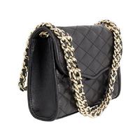 REBECCA MINKOF HS16IFCD01 Mini Quilted Affair Shoulder Bag, Black