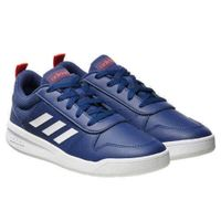 Adidas Kids Tensaur K Youth Court Shoe Navy/White Size 3