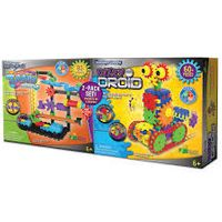 The Learning Journey Techno Gears STEM Construction 2 Pack Set  Dizzy Droid & Zany Trax 4.0