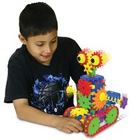 The Learning Journey Techno Gears STEM Construction 2 Pack Set  Dizzy Droid  Zany Trax 4.0