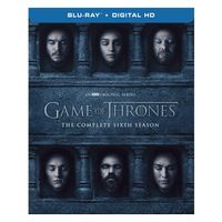 GAME OF THRONES THE COMPLETED SIXTH SEASON BLURAY DVD