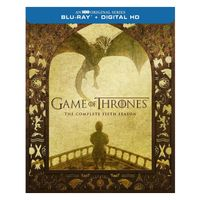 GAME OF THRONES THE COMPLETED FIFTH SEASON BLURAY DVD