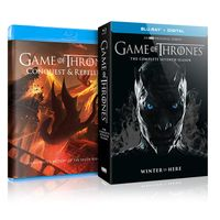 GAME OF THRONES THE COMPLETED SEVENTH SEASON BLURAY DVD