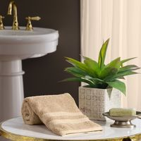 "Member's Mark Hotel Premier Collection 100% Cotton Luxury Hand Towel, 16"" x 32"", Linen Set of 4"