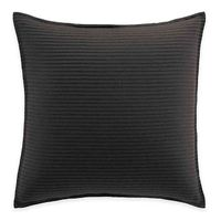 Manor Hill® Lowery European Pillow Sham in Black