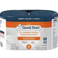 Gerber Good Start Gentle HMO Infant Formula with Iron 012 Months, 2 pk./25 oz