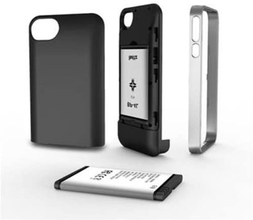 ibattz Mojo Classic 1500 Charger Case for iPhone 4/iPhone 4S  Retail Packaging