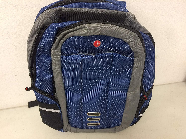 "Kross Precision 15.6"" Sports Laptop Notebook Tablet Backpack Dark Blue"