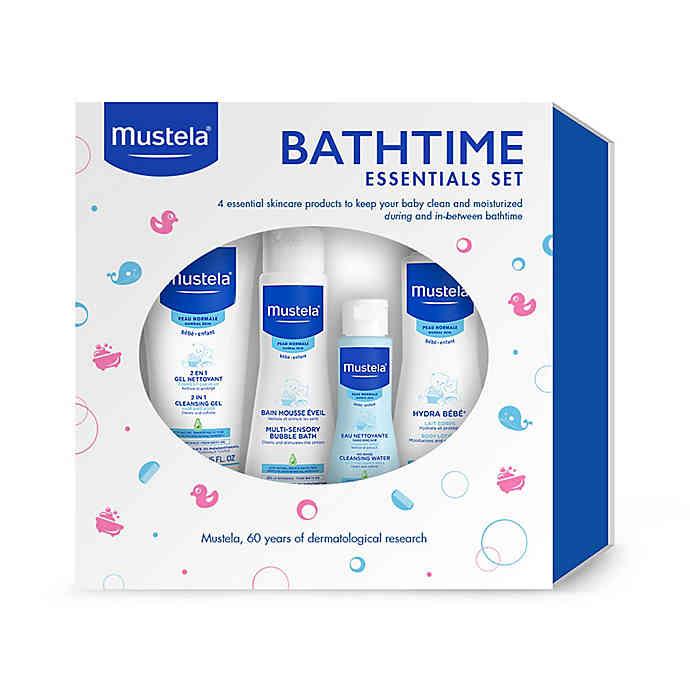 Mustela 4Piece Bathtime Essentials Gift Set