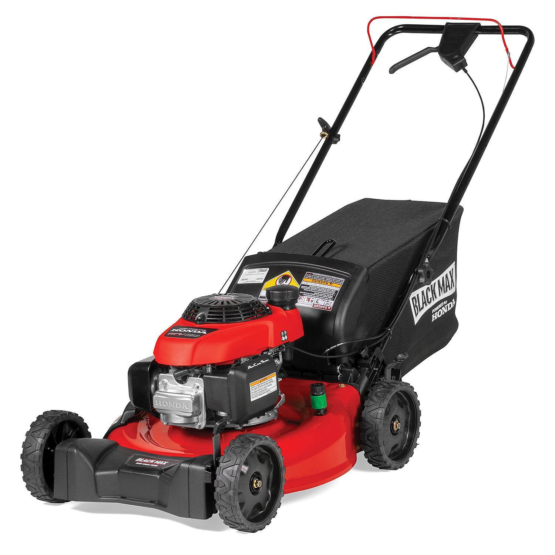 Black Max RearWheel Drive SelfPropelled Gas Mower