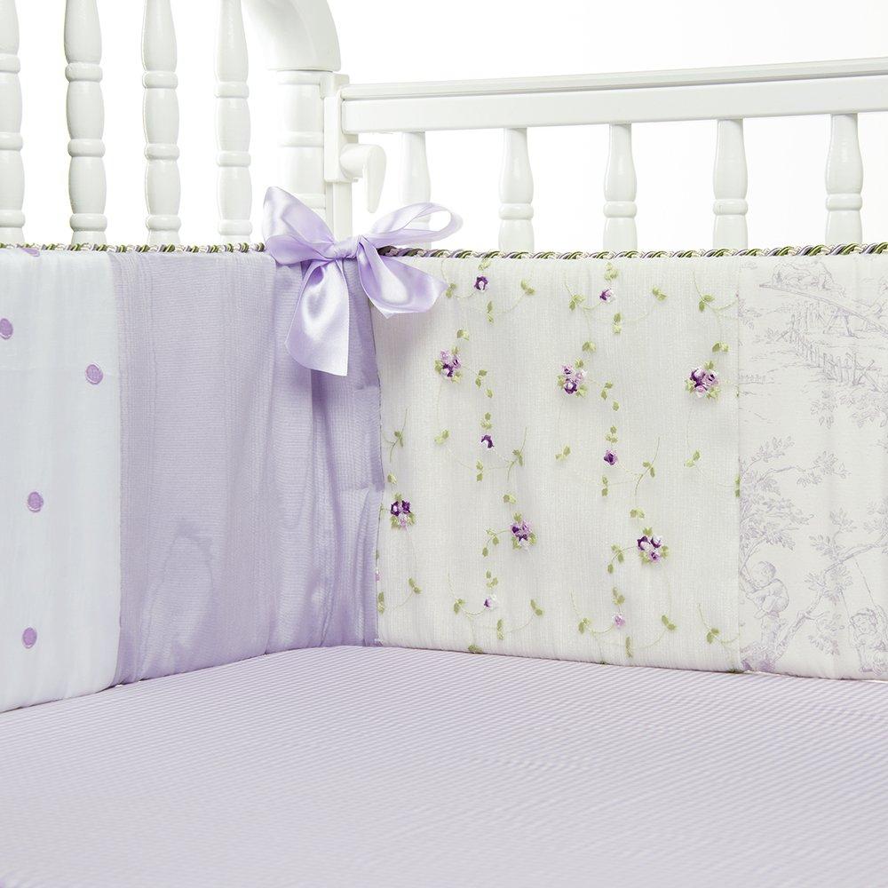 GLENNA JEAN Penelope Bumper, Lavender/Mint/White