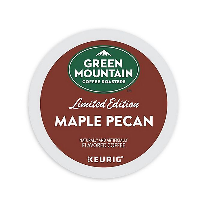 GREEN MOUNTAIN COFFEE Maple Pecan Limited Edition Coffee Keurig KCup Pods 18Count